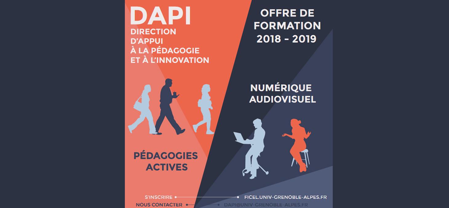 Offre de formation Pédagogie et Innovation 2018-2019
